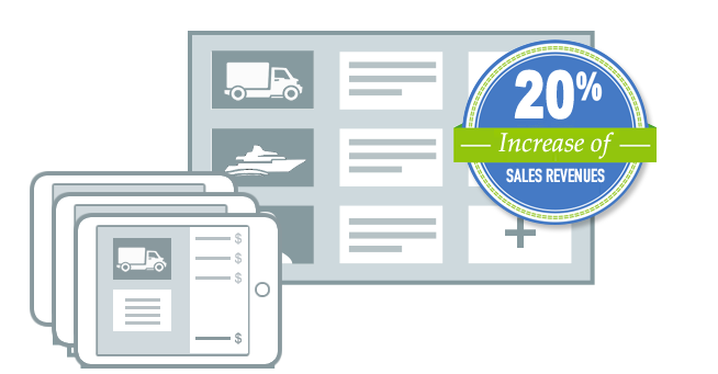 Salesninja helps increase sales by over 20 percent.